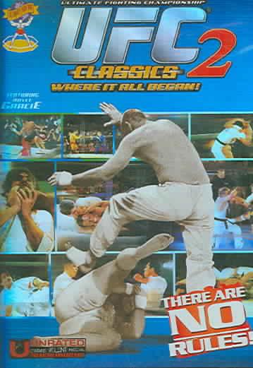 UFC CLASSICS 2 BY GRACIE,ROYCE (DVD)